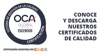 Certificados de Calidad Funvisa